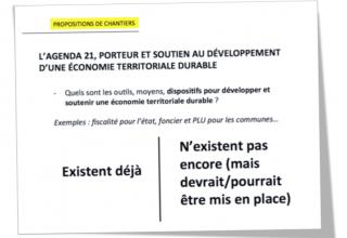 Agenda 21 – Economie territoriale durable