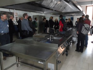 Lunch at ITC Antonello and Albatros Foundation - Thursday 27th March
