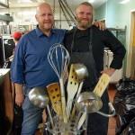Chef Johan Fogler and Joachim Johansson