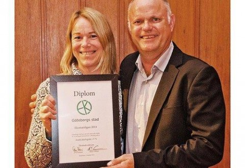 Ulla L and the City of Gothenburg receives a diploma